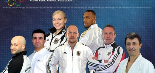 Olympia Team Deutschland Karate
